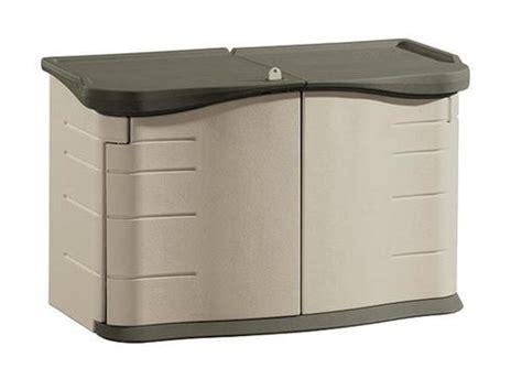 rubbermaid 4 7 quot x 2 4 quot split lid storage unit