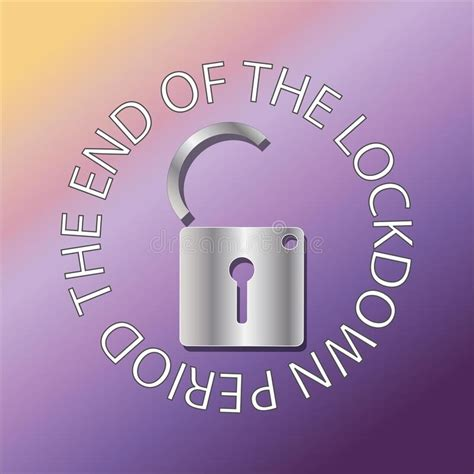 Lockdown Sign Stock Illustrations – 5,232 Lockdown Sign ...