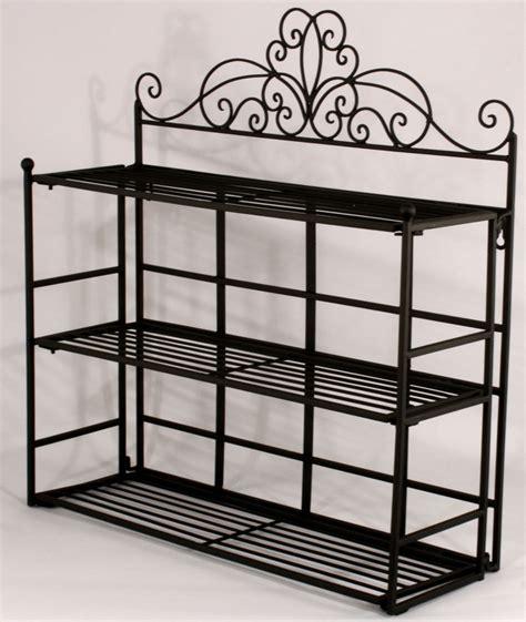 black wall shelf shabby chic black metal wall shelf storage unit amazing