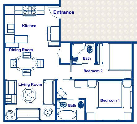 kitchen design plans with island liner luxury resorts 540 sq ft resort residence