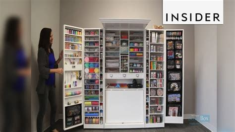 Craft Cupboard by Craft Storage Armoire 250 That Stores An Amazing Amount