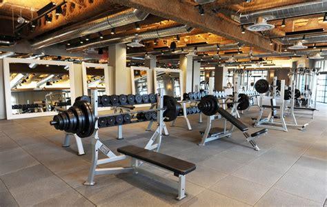 Gym Interior : Standard Fitness Gym Size Home Floor Plan Design Interior