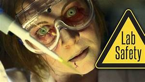 Zombie College  The 5 Rules Of Lab Safety