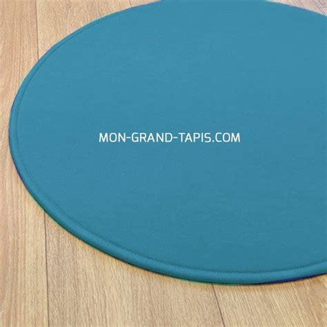 tapis rond sur mesure tapis sur mesure rond bleu modena par vorwerk
