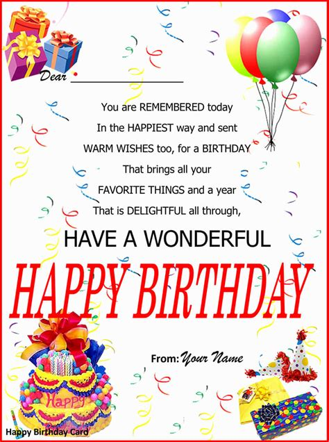 20+ Free Birthday Card Templates (for Word PSD AI)
