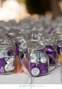 wedding favors ideas best photos favors kiss and purple With purple and turquoise wedding favors
