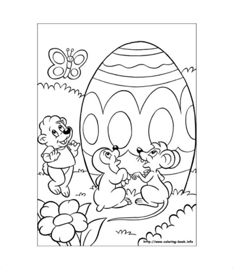 easter colouring page   documents