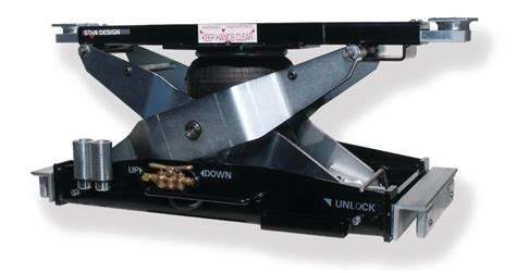 Stan Design J7000l Low Boy Air Bag Scissor Jack In Jacks
