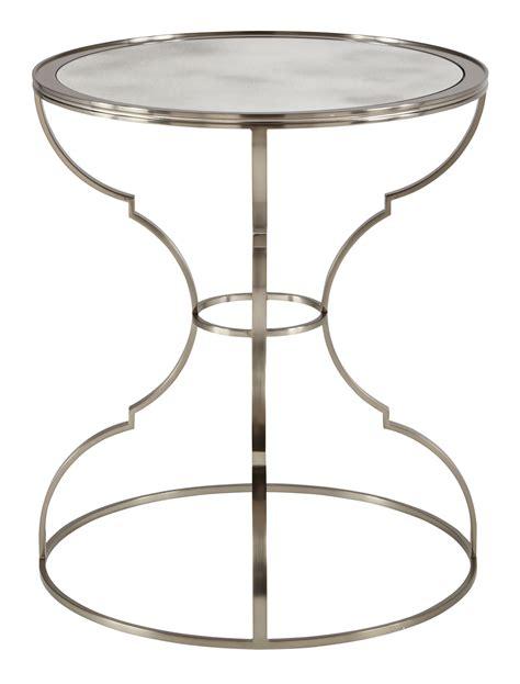 round metal end table round metal end table bernhardt