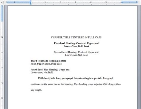 Turabian Template For A Paper by 47 Chicago Style Essay Exle Papers Using Chicago
