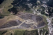 Airphoto - Aerial Photograph of Homestake Gold Mine ...