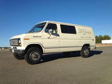 buy   ford   econoline custom standard cargo