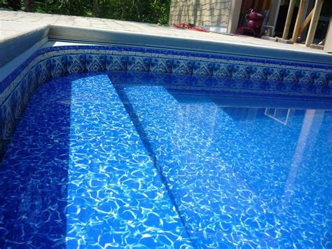 Beaded Pool Liner Replacement