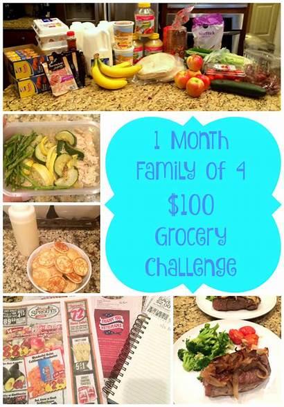 Grocery Week Challenge Budget Month Spend Money