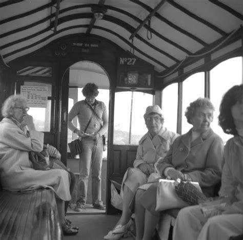 Inside The Horse Tram Douglas Isle Of Dr Neil