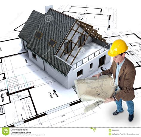 home building stock photo image  architecture model