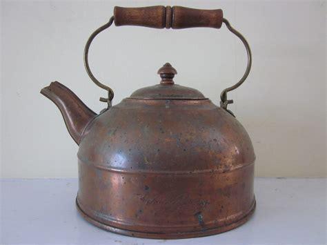 vintage revere ware copper tea kettle