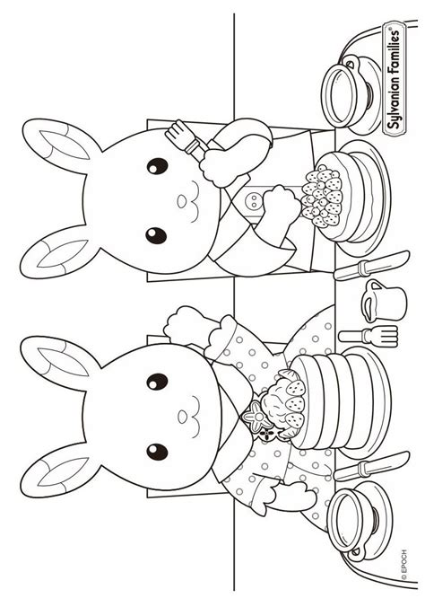 kids  funcom  coloring pages  calico critters