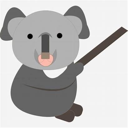 Koala Cartoon Grey Bear Australia Pngtree Psd
