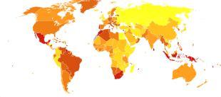 Diabetes Mellitus 2 World Map