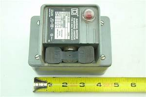 Square D Manual Toggle Switch 600vac 2510 Kw