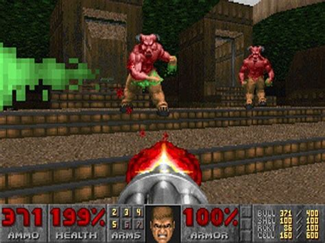 Doom (1993) PC Screens and Art Gallery - Cubed3