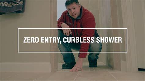 entry curbless shower bathroom remodel destin fl