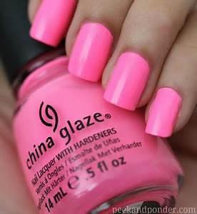 China Glaze Shocking Pink