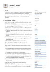 esl teacher resume sle writing guide resumeviking com
