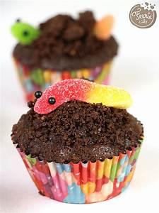 Vers De Terre Acheter : cupcakes chocolat vers de terre f erie cake ~ Nature-et-papiers.com Idées de Décoration