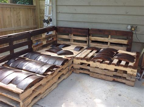 pit sectional sofa diy pallet outdoor sectional furniture