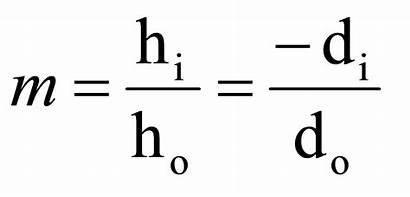 Magnification Equation Grade Science