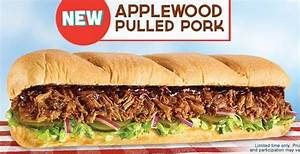 subway pulled pork