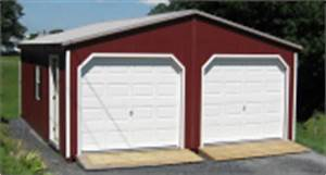 2 car garages two car garage dimensions at alans With 20x24 garage kit