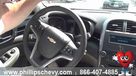 chevy malibu ls interior features phillips