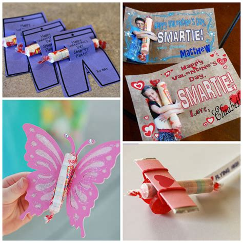 Valentine Ideas For Kids Using Smarties (candy) Crafty