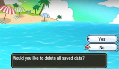 restart pokemon sun  moon pokemoncoders