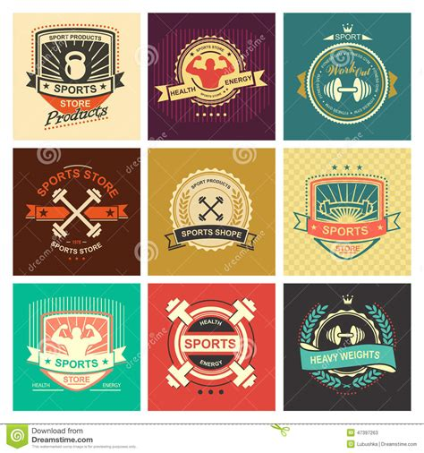 Sport Product Logo by Sports Logo Stock Vector Illustration Of Badge Health