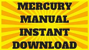 Mercury Outboard Manual 45 Hp To 115 Hp  1965 To 1989  Pdf