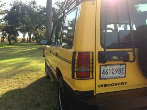 how cars run 1997 land rover discovery engine control find used 1997 land rover discovery xd very rare in united states for us 6 000 00