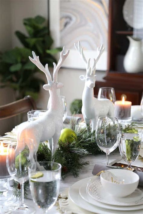 christmas tablescapes inspiration monday refresh restyle
