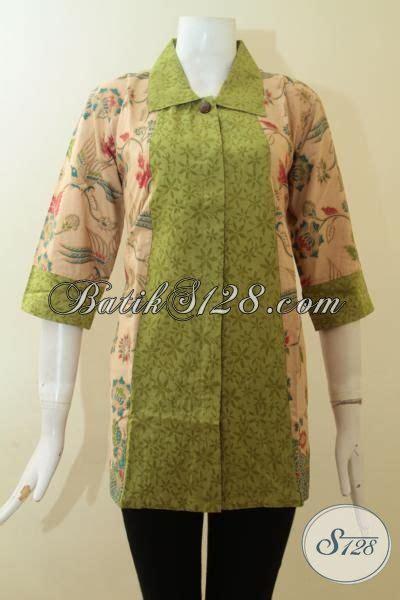 blus batik elegan  motif terbaik  model istimewa