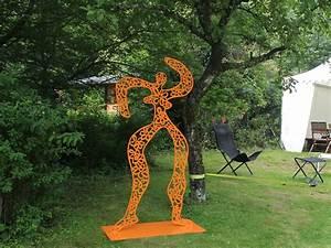 Abstrakte Skulpturen Garten : stahlskulptur metallskulpturen gartenskulpturen skulpturen kaufen ~ Sanjose-hotels-ca.com Haus und Dekorationen