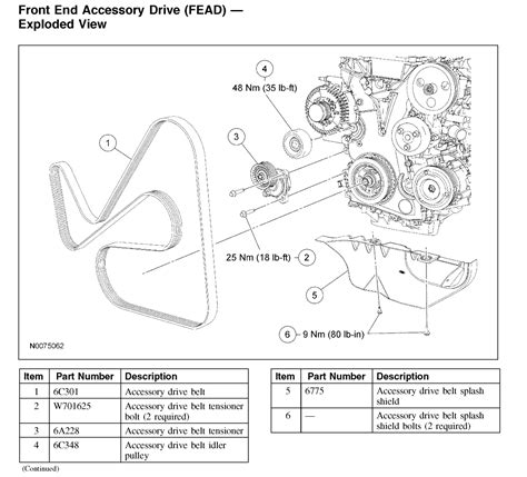 2006 Ford Focu Belt Diagram by What Is The Serpentine Belt Configuration For My Car