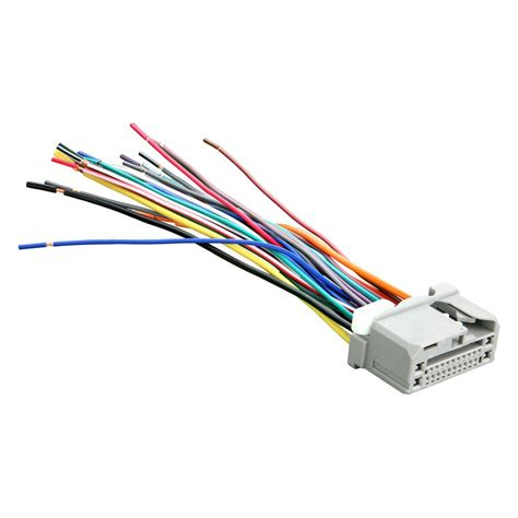 metra u00ae 71 1729 factory replacement wiring harness with wiring harness replacement ends