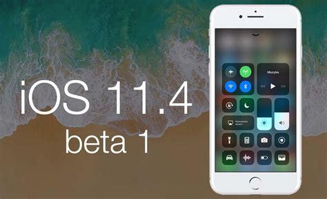 apple udostępniło pierwszą betę ios 11 4 lista zmian