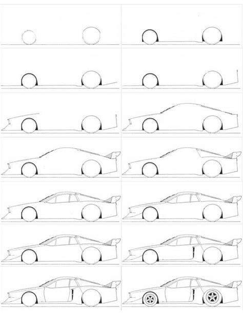 accessoire siege auto comment dessiner une voiture facilement dessins