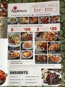 Applebee's Menu with Prices