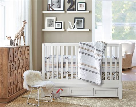 pottery barn baby wall decor our favorite ideas for a neutral nursery