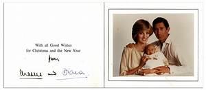 Lot Detail - Princess Diana & Prince Charles Signed ...